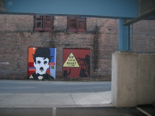 Charlie Chaplin - Up Your Alley Troy, NY
