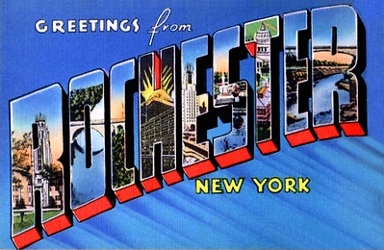 Rochester Postcard